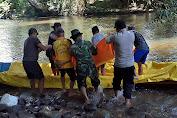 Jasad Edi Korban Yang Terseret Arus Sungai Blu'u Sudah Ditemukan