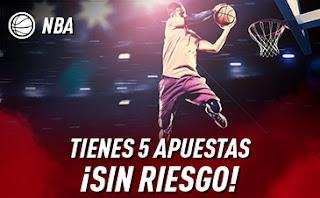 sportium promo NBA 5 apuestas sin riesgo hasta 15 diciembre 2019