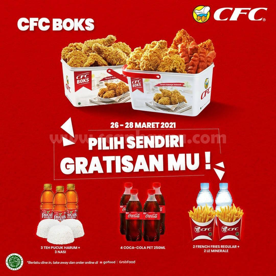 CFC Promo BELI Paket CFC Boks PILIH SENDIRI GRATISANMU