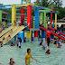Kolam Terraz Waterpark Tanjung Batu Ramai Pengunjung