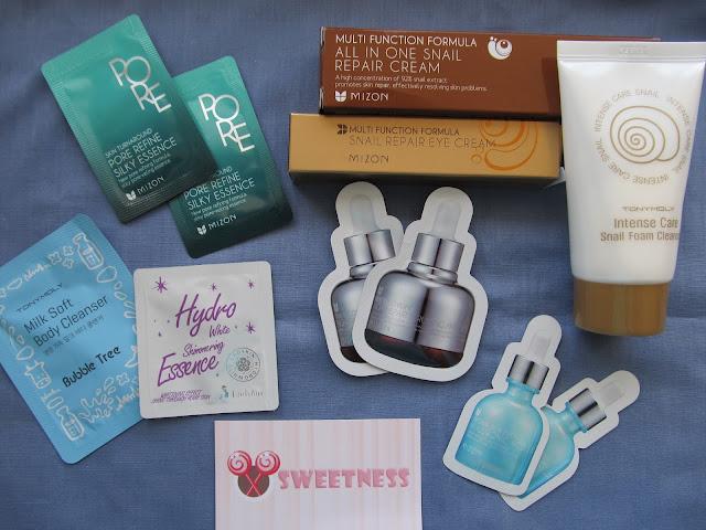 Продукція для догляду за шкірою з сайту корейської косметики