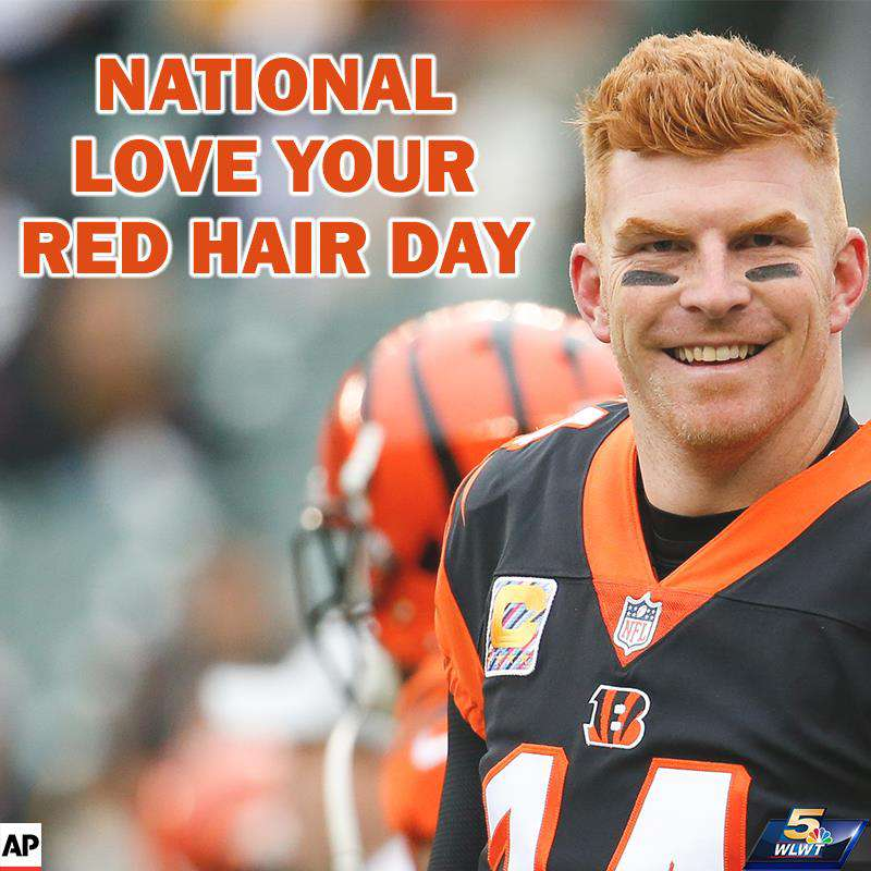 National Love Your Red Hair Day Wishes Sweet Images