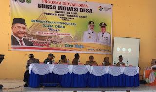 DPMDes Gelar Bursa Inovasi Desa di Tiga Lokasi