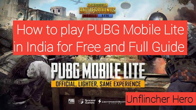 How to Play PUBG Mobile Lite in India for Free | Full Guide