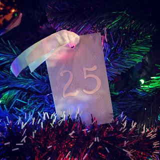 Christmas Advent Tags