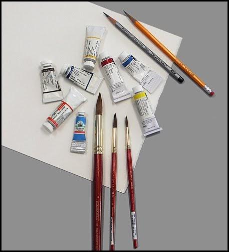 Mara Mattia Art Watercolor Materials