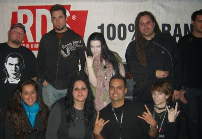 Meet & Greet con la band