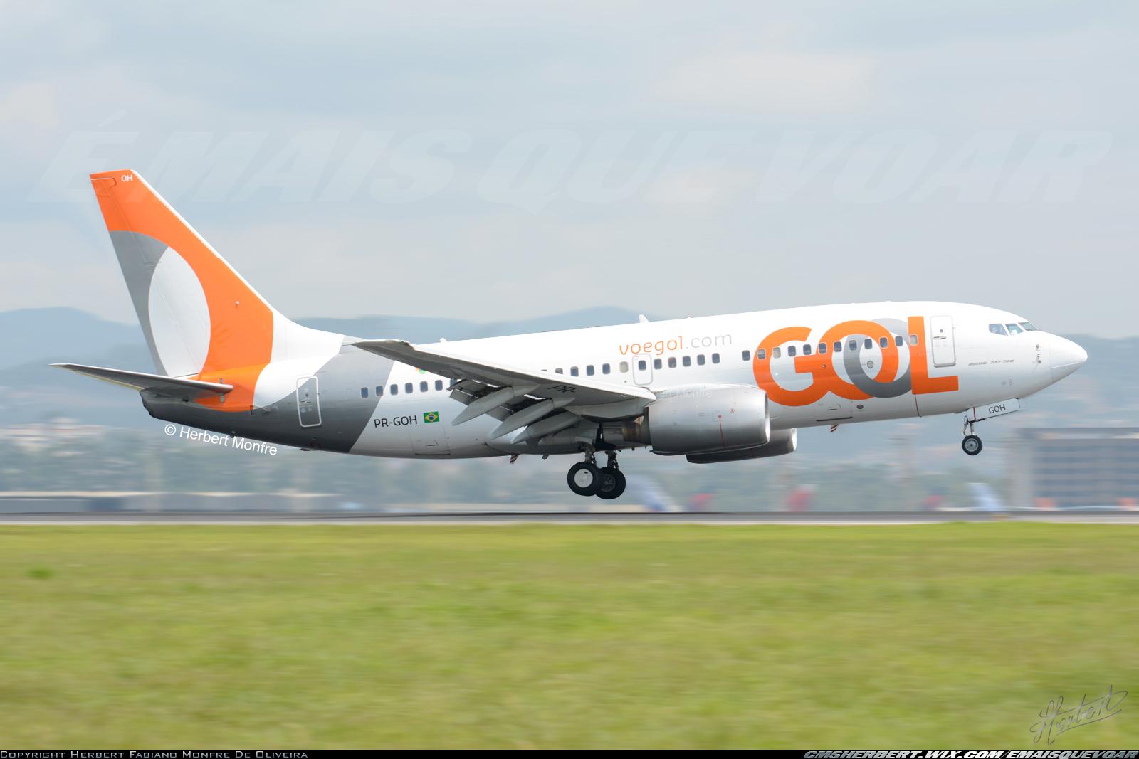 GOL terá voará para Araçatuba (SP)   Foto © Herbert Monfre - É MAIS QUE VOAR