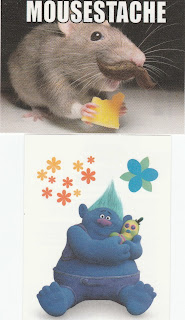Pet Shop Stickers #9 and Trolls sticker #5