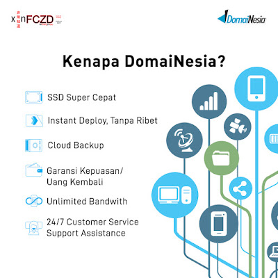 DomaiNesia bisa membantu solusi dari website anda