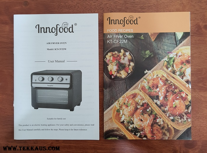 Innofood Air Fryer Oven Recipe Book