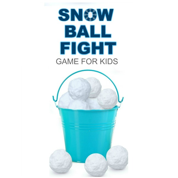 INDOOR SNOWBALL FIGHT: DIY GAME FOR KIDS #wintergamesforkids #winteractivitiesforkids