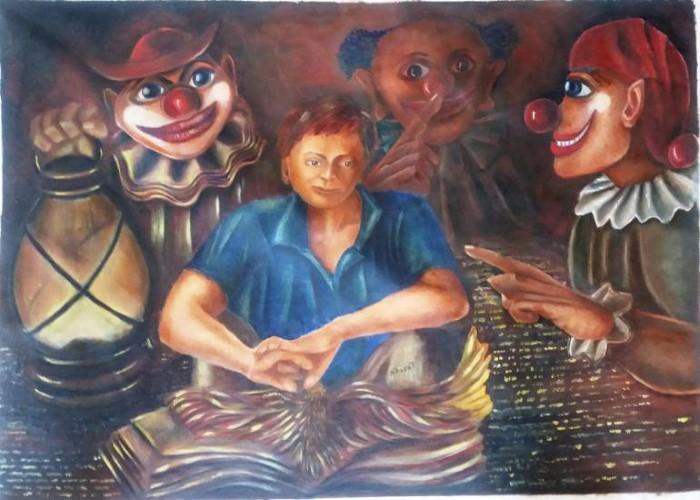 Индийский художник. Bhamidipati Bharati