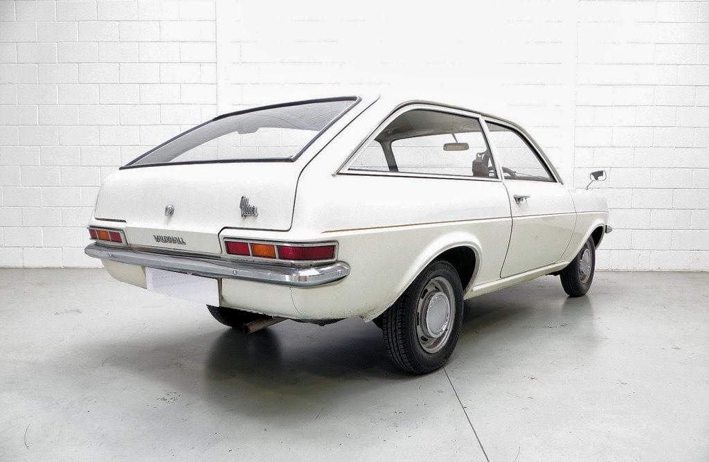 Vauxhall Viva 1972 1800 Estate rear - Vauxhall Viva 1972 1800 - automobile sales contract