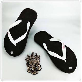 Jepit ABBE Polos Warna grosir sandal murah
