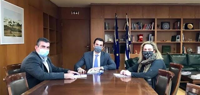 Συνάντηση Κ.Ο.Ε. με τον Υπουργό Περιβάλλοντος & Ενέργειας
