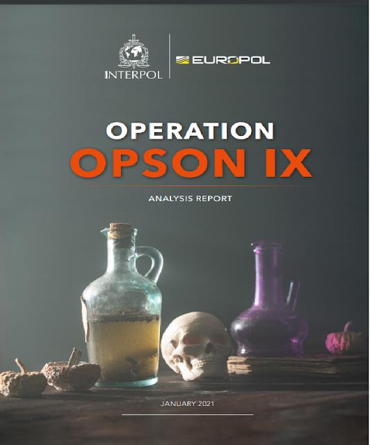 """Europol con OPSON IX avvisa: attenzione alla """"criminalità alimentare"""""""