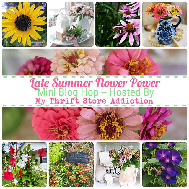 Late Summer Flower Power Collage