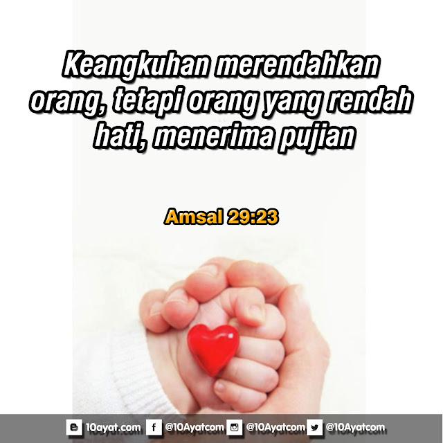 Amsal 29:23
