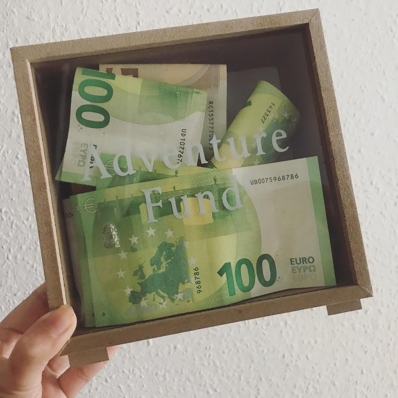 Raise Money Smart Kids by Setting Savings Goals, adventure fund, money box