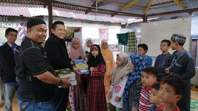 Partai Ummat Kota Medan Menyerahkan Bantuan Mushaf Al Qur'an
