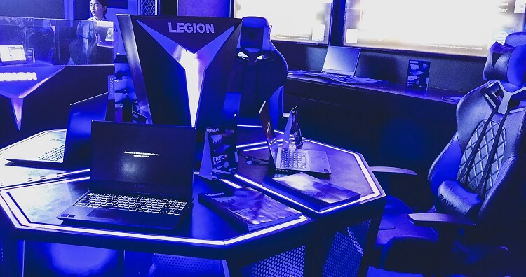 Consumers Can Also Experience the Legion Products at the Store