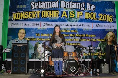 Konsert Akhir ASP Idol ~ Lydia Kalidin