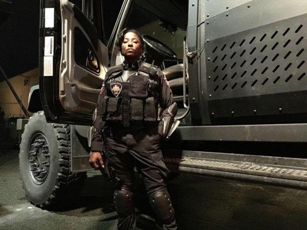 Rutina Wesley Lady Cop