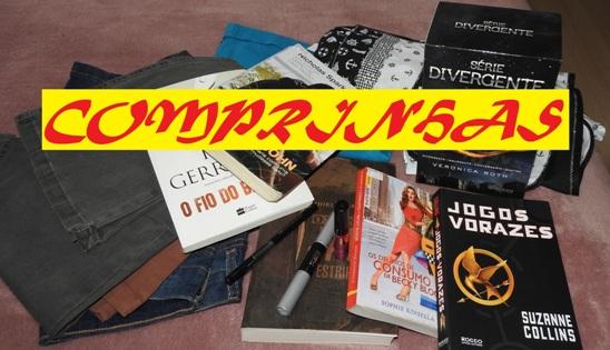 comprinhas compras de blogueira