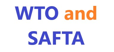 WTO and SAFTA