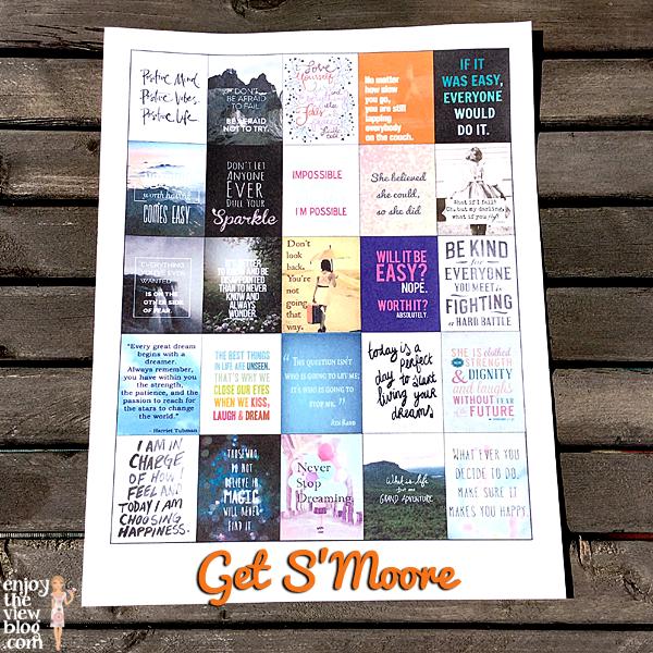 Free Planner Printables: Get S'Moore