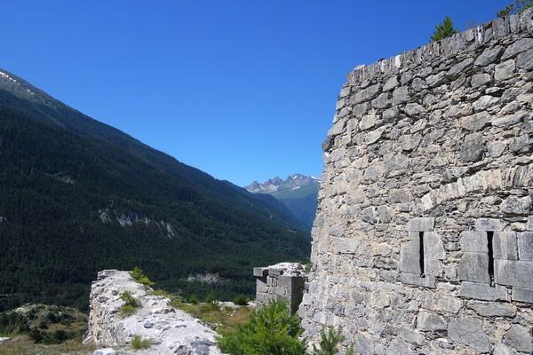 savoie maurienne vanoise aussois fort barrière esseillon sentier bâtisseurs charles felix