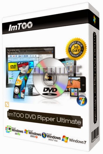 ImTOO DVD Ripper Ultimate 7.8.6.20150130 + Crack