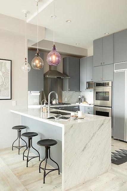 Desain dapur dan ruang makan minimalis modern