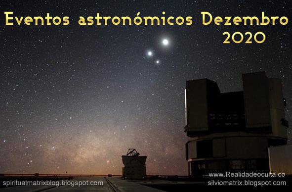 Eventos Astronómicos Dezembro 20202