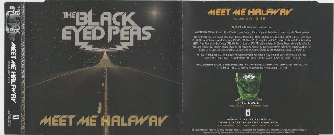 the black eyed peas meet me halfway album