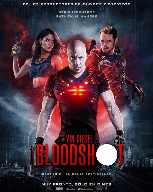 Sam Heughan y su nueva película, Bloodshot