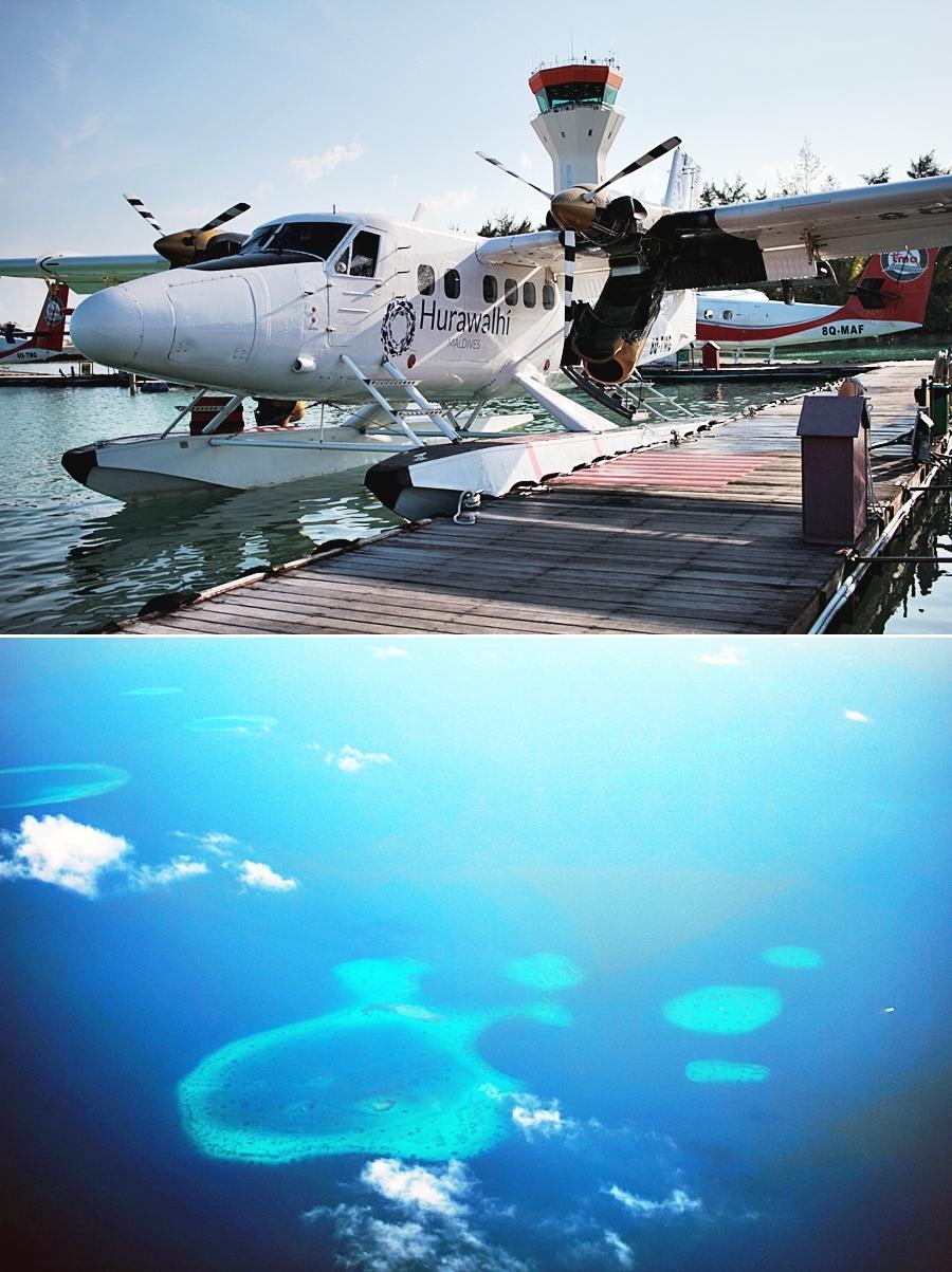 malediven wasserflugzeug flitterwochen