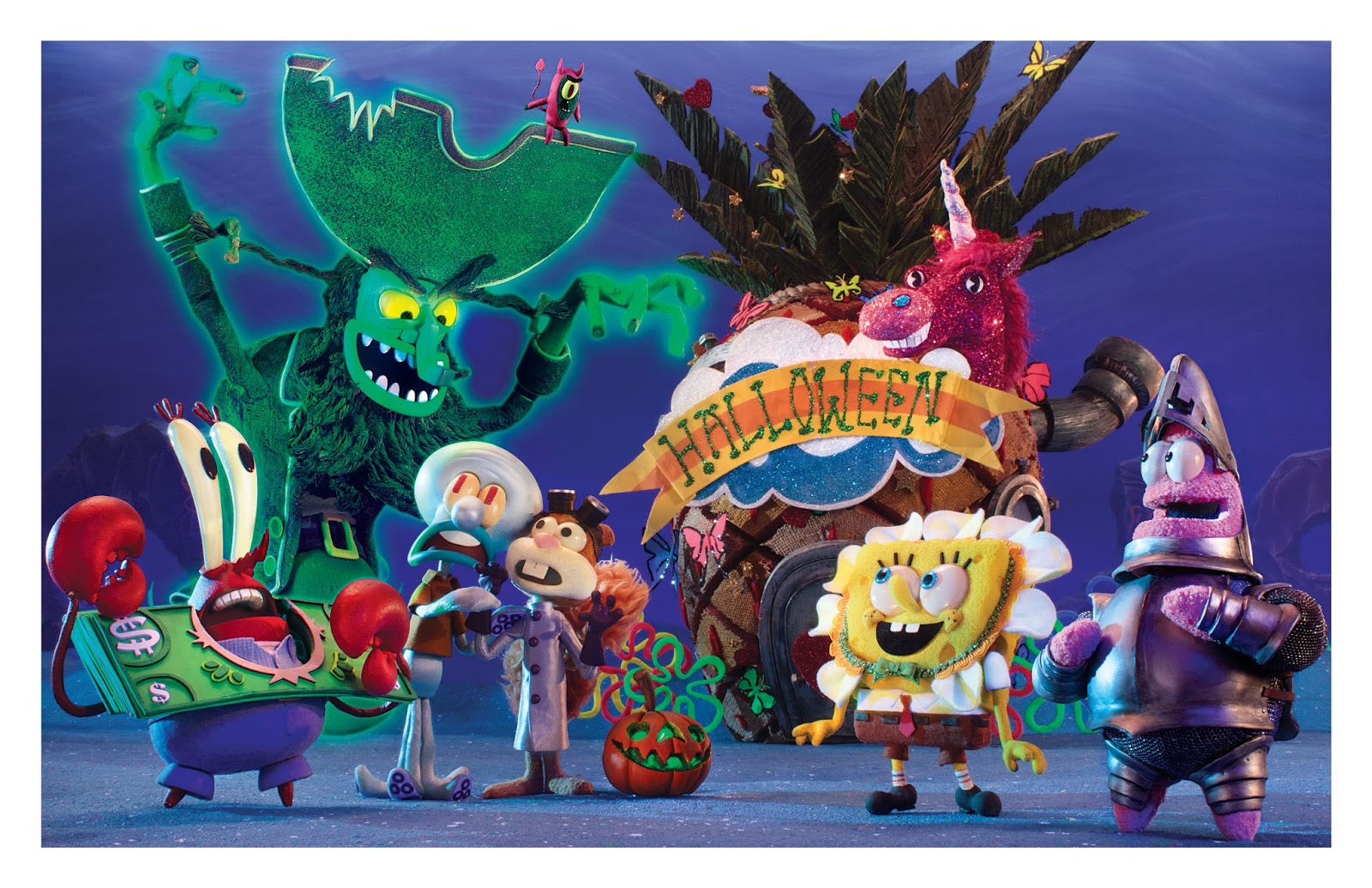 de6b8b1bd9 Nickelodeon treats viewers to a spooky stop-motion special with the  premiere of SpongeBob SquarePants  The Legend of Boo-Kini Bottom