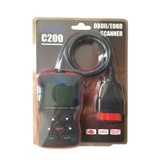 Creator C200 OBDII/EOBD Code Reader