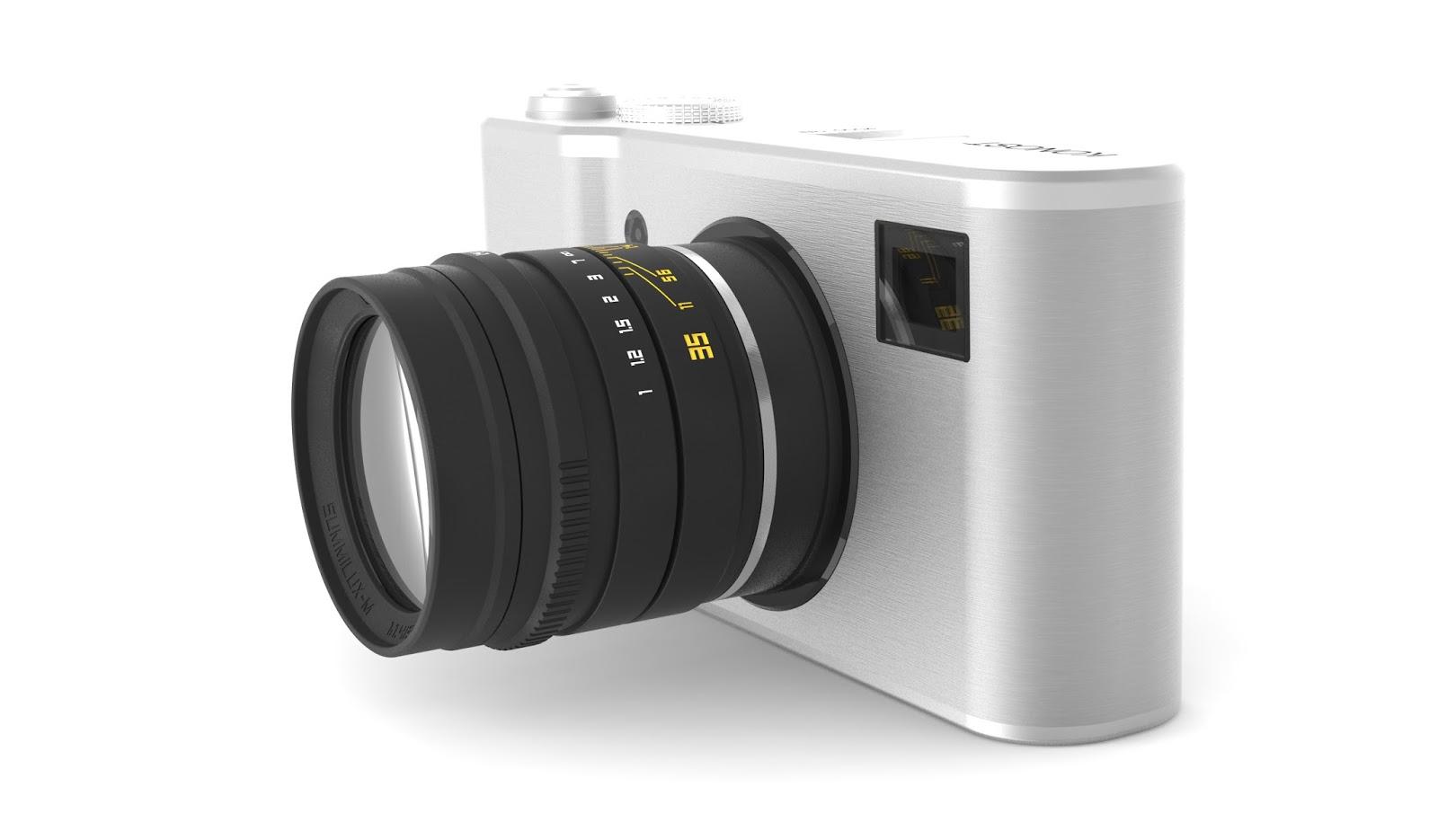 Камера Konost, серебристый цвет
