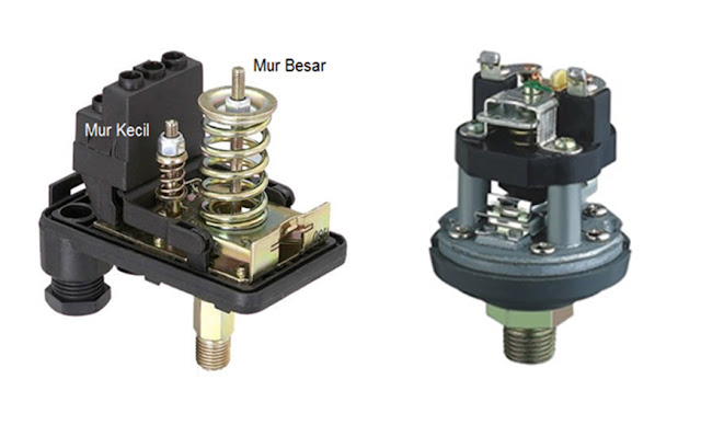 Cara Memperbaiki Pressure Switch Otomatis Pompa Air