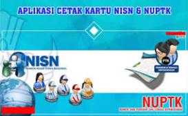 Download Cetak Aplikasi Kartu UNPTK,NRG dan NISN Model Terbaru 2017