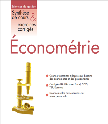 Econométrie Synthex, Synthèse de cours et exercices corrigés PDF