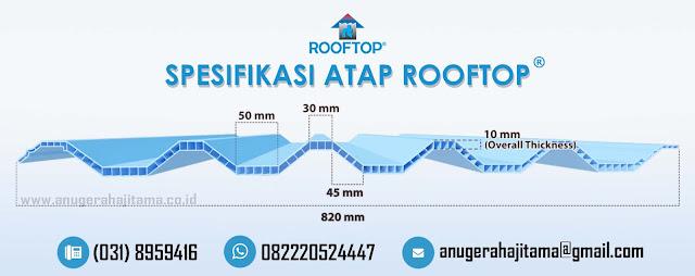 Spesifikasi Atap Rooftop