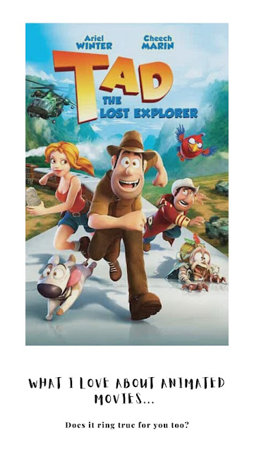 tad the explorer travel movie review by doibedouin