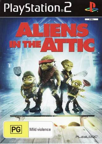 Aliens in the Attic PAL PS2