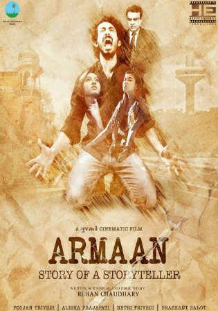 Armaan Story Of A Storyteller 2017 Gujarati 300MB HD-Rip 480p