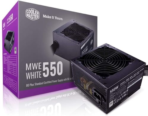 Review Cooler Master MWE 550 White 550W Power Supplie