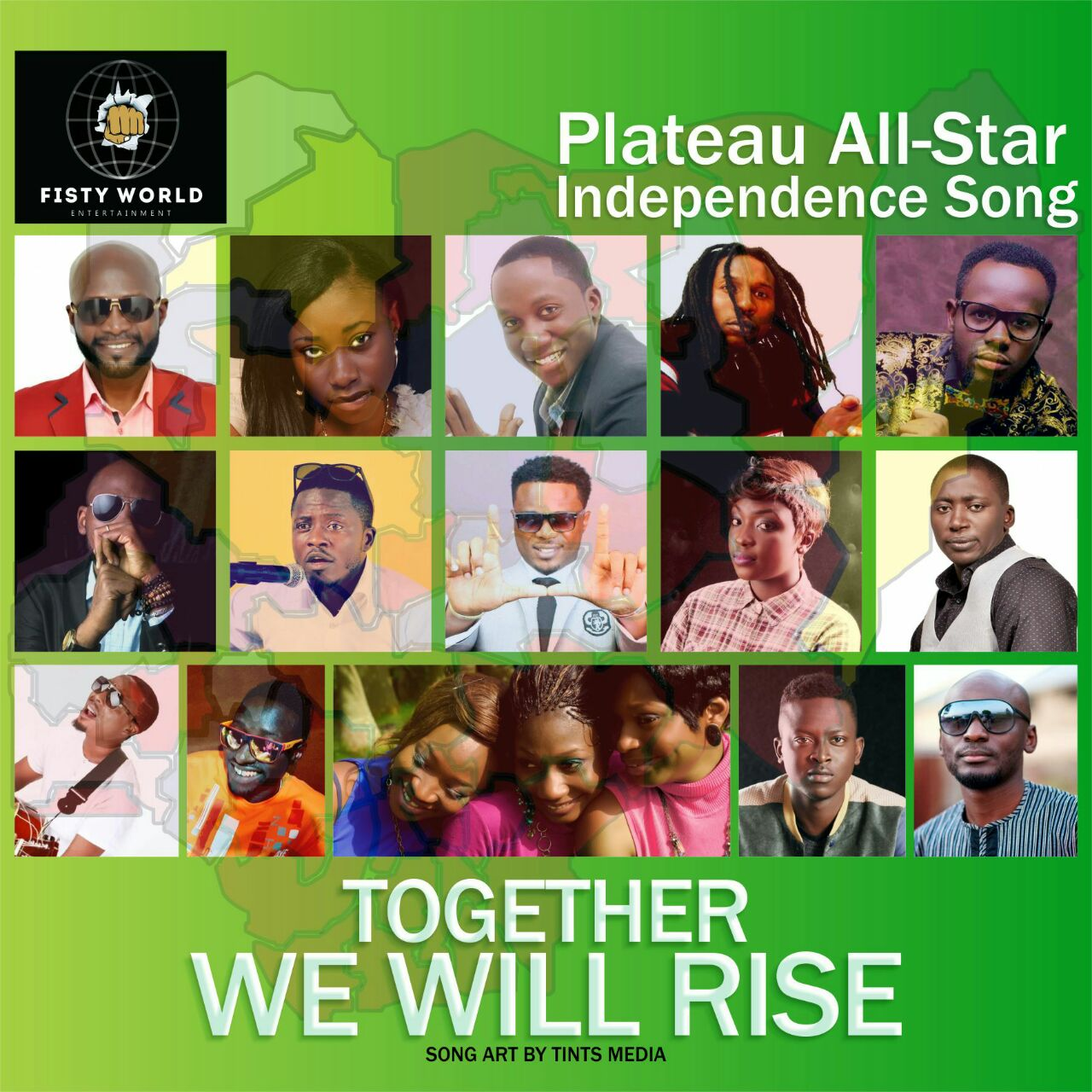 TOGETHER' SPECIAL NIGERIA INDEPENDENCE SONG BY PLATEAU ALL